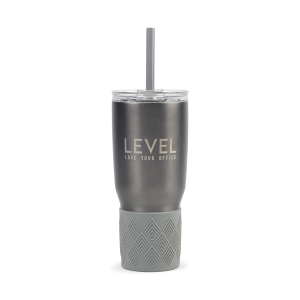 Aviana™ Midas Double Wall Stainless Tumbler with Grip